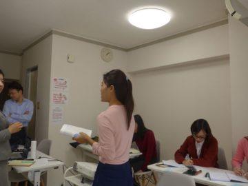 ミャンマー検診センター開業前接遇研修in新大阪の画像