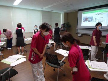 富山県医療機関にて新人向け研修、医師向け研修の画像