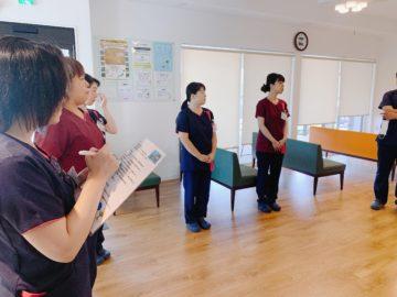 千葉県耳鼻咽喉科にて研修の画像
