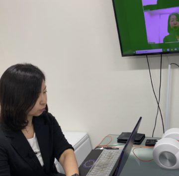宮城県北部医療機関にてzoom研修の画像