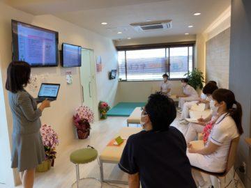 神奈川県耳鼻科クリニックにて研修の画像