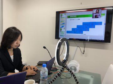 千葉県顧問先耳鼻咽喉科にてzoom研修の画像