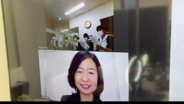 仙台市顧問先クリニックにて継続研修(zoom)の画像