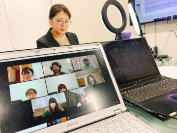 東北福祉大学講義(zoom)の画像