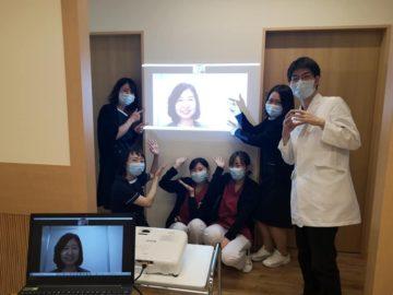 仙台市内医療機関機関にて研修(zoom)の画像