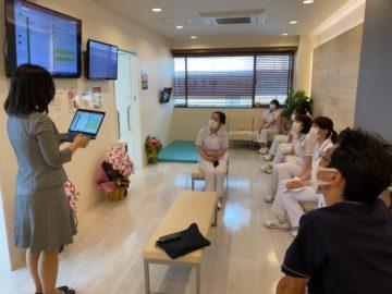 神奈川県耳鼻咽喉科クリニックにて研修の画像