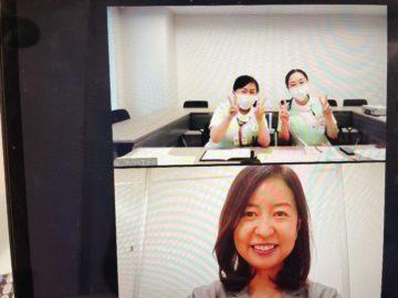 大学病院とのzoomミーティングの画像