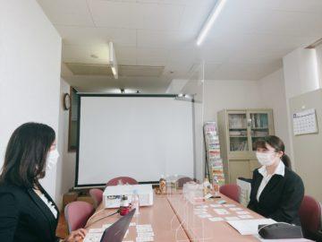 埼玉県行田市眼科クリニックにて内定者研修の画像